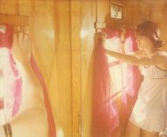 Hemispheres Away, Contemporary, 21st Century, Polaroid, Figurative Photography