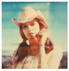 Her last Call - Polaroid, Contemporary, 21st Century, Women, Color, Portrait