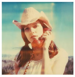 Her last Call (The Girl behind the White Picket Fence) - Polaroid, 21st Century