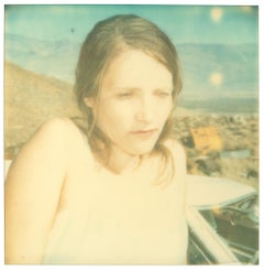 Hideout (Wastelands) Contemporary, Polaroid, Figurative, Photograph, Woman