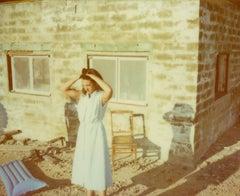 I am leaving! (Till Death do us Part) - Polaroid, Figurative