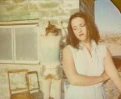 I feel so alone! (Till Death do us Part) - Polaroid, Contemporary, 21st Century