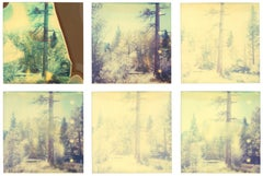 In the Range of Light III (Wastelands) - analog, Contemporary, Polaroid, Color