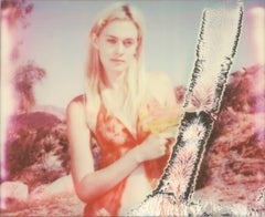 Jane Bond (Heavenly Falls) - 21st centuty, Polaroid. Contemporary, Portrait