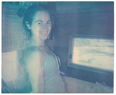 Jill - based on a Polaroid, Portrait, Contemporary, Women