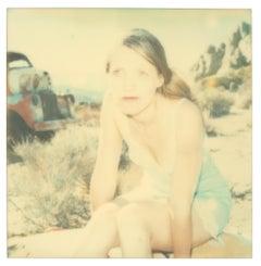 Jordan (Wastelands) - Contemporary, 21st Century, Polaroid, Figurative