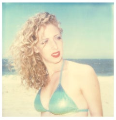 Kelly II (Beachshoot) - Contemporary, 21st century, Polaroid, Portrait