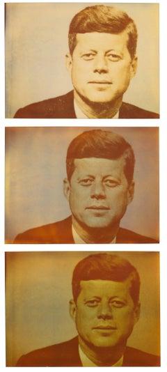 Kennedy - Contemporary, Portrait, USA, Polaroid, Schneider, photograph