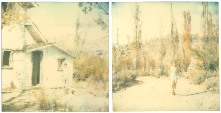 Stefanie Schneider Color Photograph - Last Season (Wastelands), diptych, analog