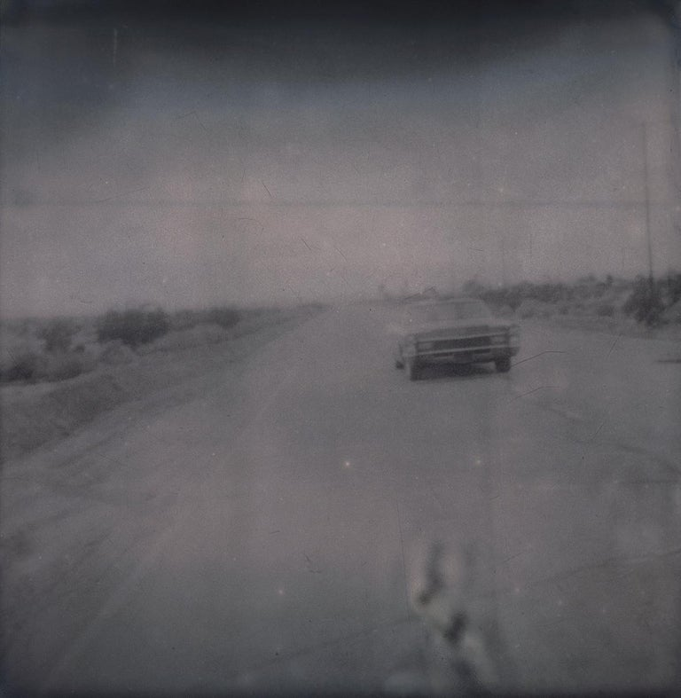 Leaving (Sidewinder) - Polaroid, 21st Century, Contemporary For Sale 1