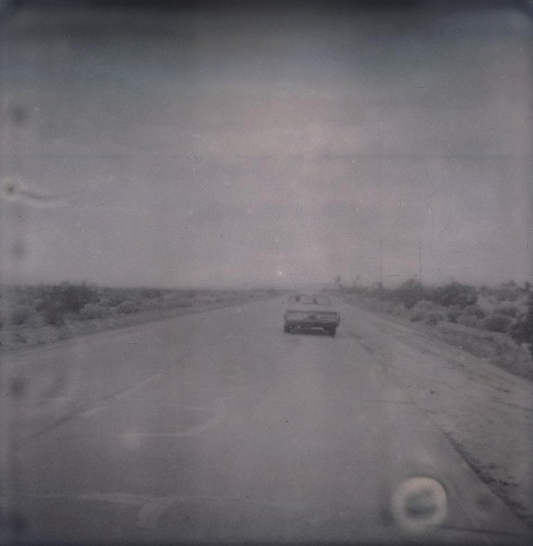 Leaving (Sidewinder) - Polaroid, 21st Century, Contemporary For Sale 2