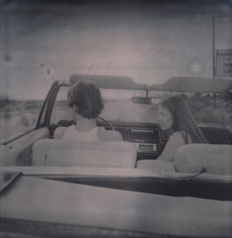 Leaving (Sidewinder) - Polaroid, 21st Century, Contemporary For Sale 3
