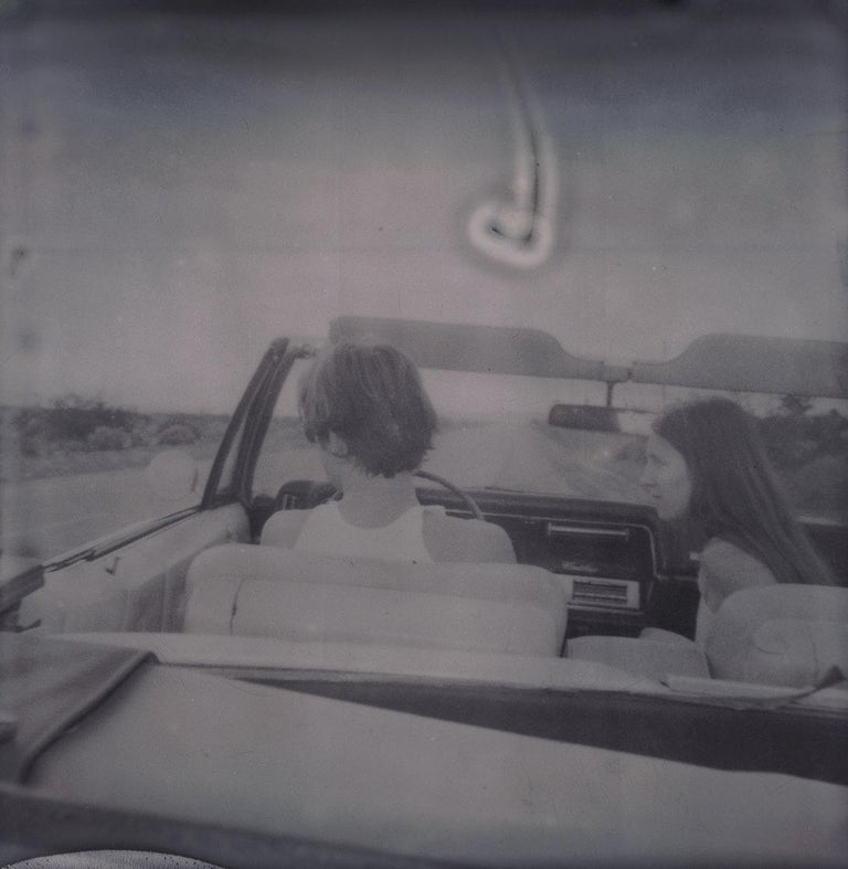 Leaving (Sidewinder) - Polaroid, 21st Century, Contemporary For Sale 4