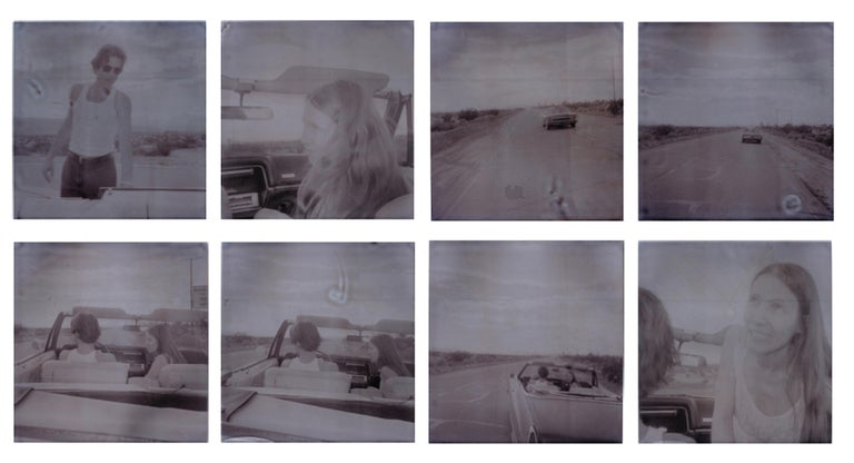 Stefanie Schneider Color Photograph - Leaving (Sidewinder) - Polaroid, 21st Century, Contemporary