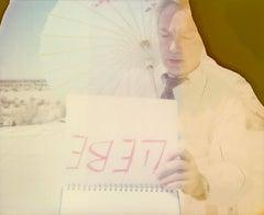 Li(e)be (Stage of Consciousness) with Udo Kier - analog, Polaroid, Contemporary