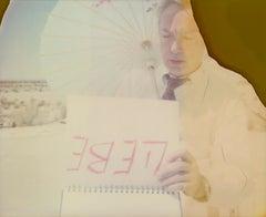 L(i)ebe (Udo Kier), Contemporary, 21st Century, Polaroid, Figurative Photograph