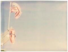 Lifeguard - Contemporary, Landscape, Polaroid, Photograph, Analog, Expired