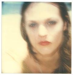 Like Tears in the Rain (Beachshoot) - analog, mounted, Polaroid, hand-print