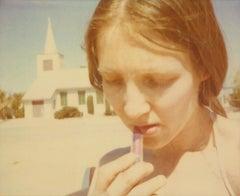 Lipstick (Sidewinder) - 21st Century, Polaroid, Contemporary, Women, Portrait