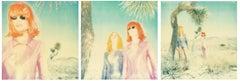 Long Way Home - triptych, Polaroid, analog, Contemporary, pop-art