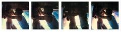 Love Svene against the Wall (Sidewinder) analog and mounted, 57x249cm - Polaroid