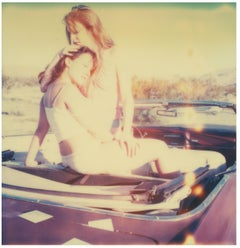 Making out in car - Contemporary, 21st Century, Polaroid, Figurative Photography