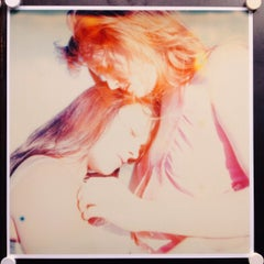 Making out in Car (Till Death do us Part) - Contemporary, Polaroid, Figurative
