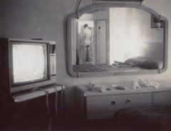 Male Nude in Motel (Desert Nudes) - Polaroid, Contemporary, 21st Century, Men