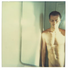 Male Nude V from the 29 Palms, CA series - Polaroid, 20th Century, Color