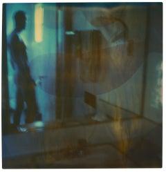 Male Nude VI (29 Palms, CA) - Polaroid, Contemporary, 20th Century, Color