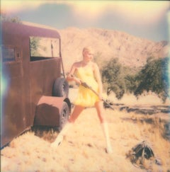 Marilyn I, aka Jane Bond (Heavenly Falls) - Polaroid, 21st Century, Women