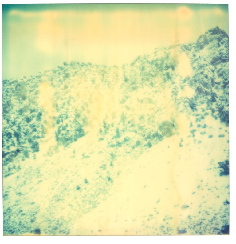 Memories of Green - triptych, analog, 21st Century, Contemporary, Color - Photograph by Stefanie Schneider