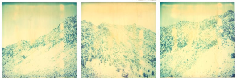 Stefanie Schneider Landscape Photograph - Memories of Green - triptych, analog, 21st Century, Contemporary, Color
