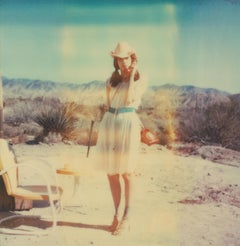 Memories of Love III (The Girl behind the White Picket Fence) - Polaroid, Color