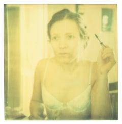 Mirrored (Memories of Green) Contemporary, Polaroid, Photograph, Portrait,