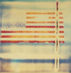 Miss America, Contemporary, Abstract, USA, expired, Polaroid, Photograph, flag