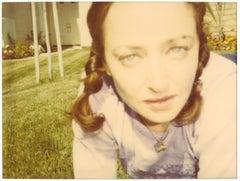 Mrs. Jones (Suburbia) - analog - 21st Century, Contemporary, Polaroid, Portrait