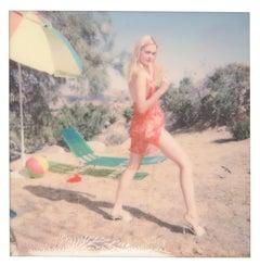 My name is Bond... Jane Bond (Heavenly Falls) - Polaroid, Figurative Photography