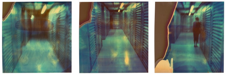 Stefanie Schneider Color Photograph - Nightmare (Suburbia) - Contemporary, Polaroid, Photography, Portrait