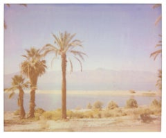 North Shore Mirage (California Badlands) - Contemporary, 21st Century, Polaroid