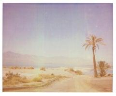 North Shore Mirage (California Badlands) - Contemporary, 21st Century, Polaroid