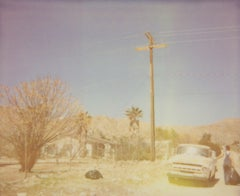 North Star Trail (The Girl behind the White Picket Fence) - Polaroid, Color