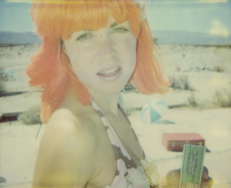 Stefanie Schneider Color Photograph - Oxana - Stage of Consciousness - analog, 75x93cm, last Edition available, mounte