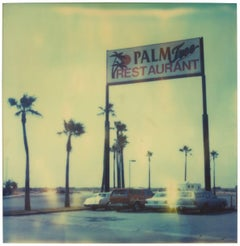 Palm Tree Restaurant II,  Contemporary, 21st Century, Polaroid, Landscape Photo