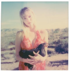 Penny Lane and Nastasia at Sunset (Chicks and Chicks...) - Polaroid, Chicken