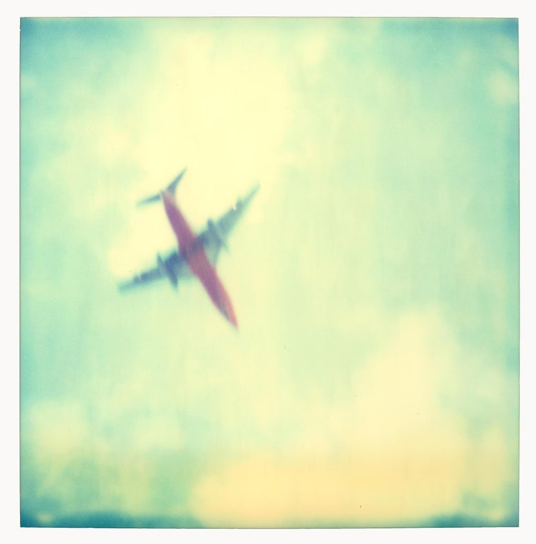 Planes (Stranger than Paradise) 6 pieces - 119x180cm, Polaroid, 20th Century - Contemporary Photograph by Stefanie Schneider