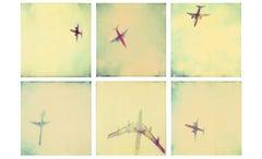 Planes (Stranger than Paradise) 6 pieces - 119x180cm, Polaroid, 20th Century