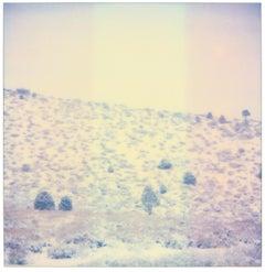 Purple Valley (Wastelands) - Contemporary, Landscape, Polaroid, Analog
