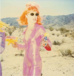 Radha Shooting I (starring Radha Mitchell) - Polaroid, 21st Century, Pop Art