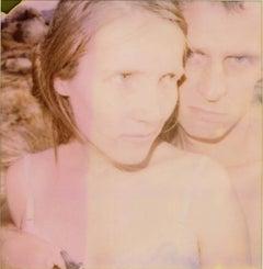 Randy and I, part 1 (Wastelands) - Polaroid, analog, mounted, Contemporary